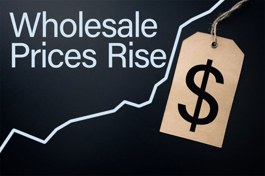 Wholesale Prices Rise