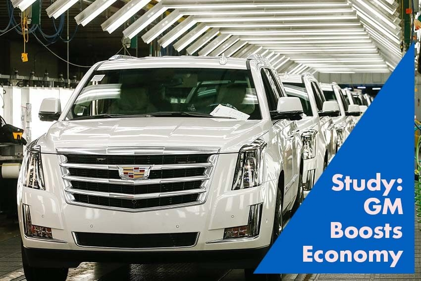 Study: GM Boosts Economy