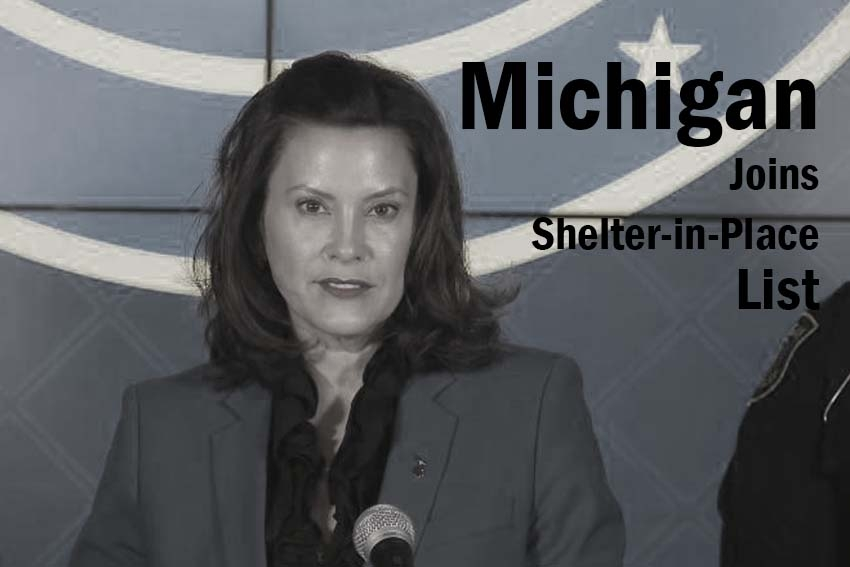 Michigan Joins Shelter-in-Place List