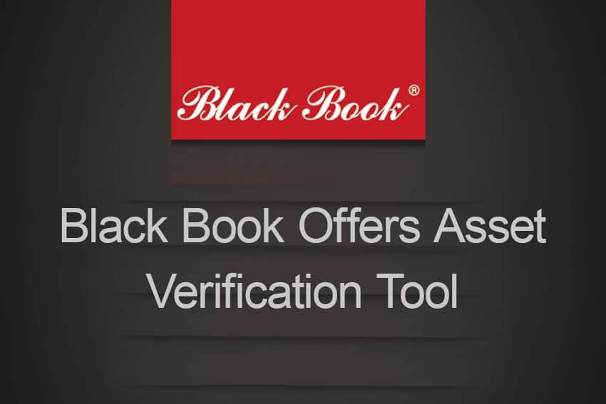Black Book Offers Asset Verification Tool
