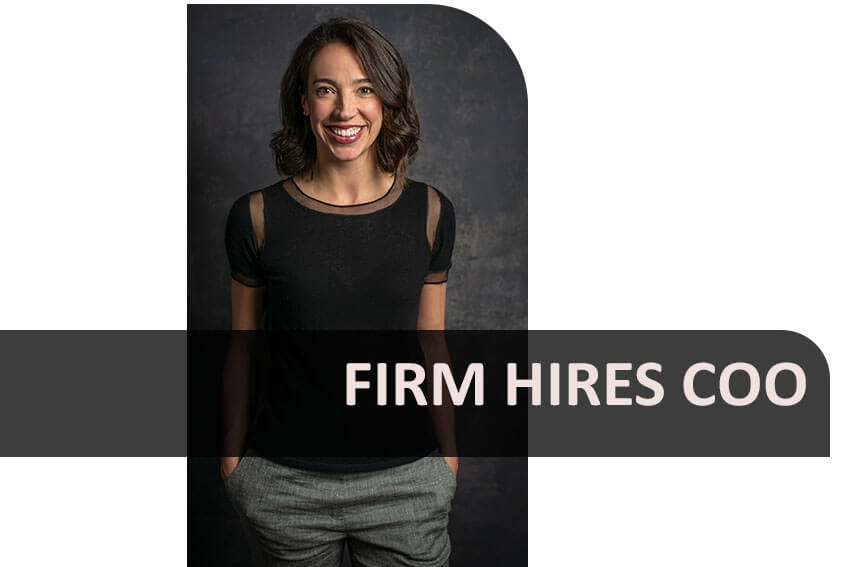 Firm Hires COO