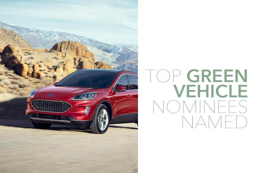 Top Green Vehicle Nominees Named