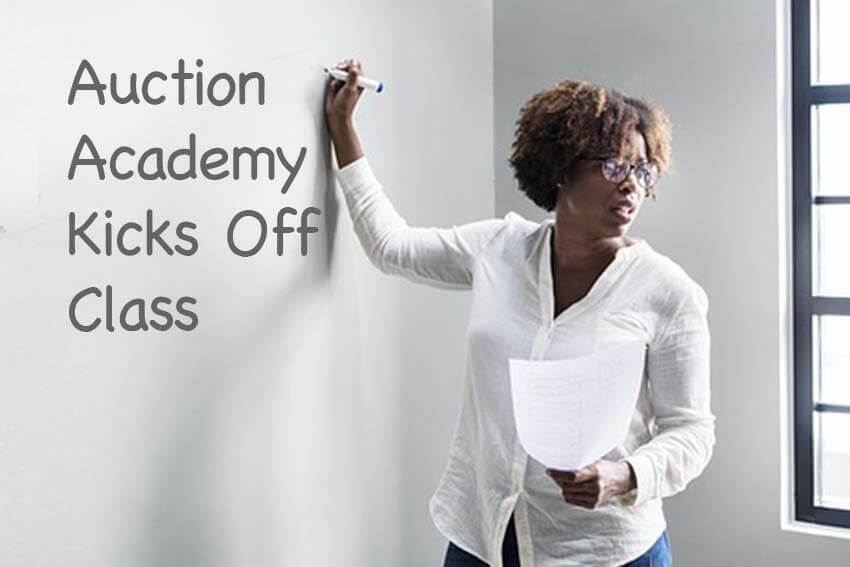 Auction Academy Kicks Off Class