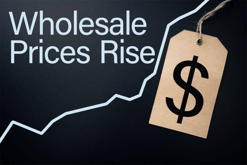 Wholesale Prices Remain Strong Year-Over-Year