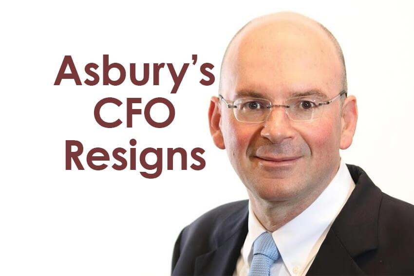 Asbury's CFO Resigns
