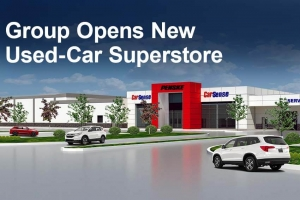 Group Opens New Used-Car Superstore
