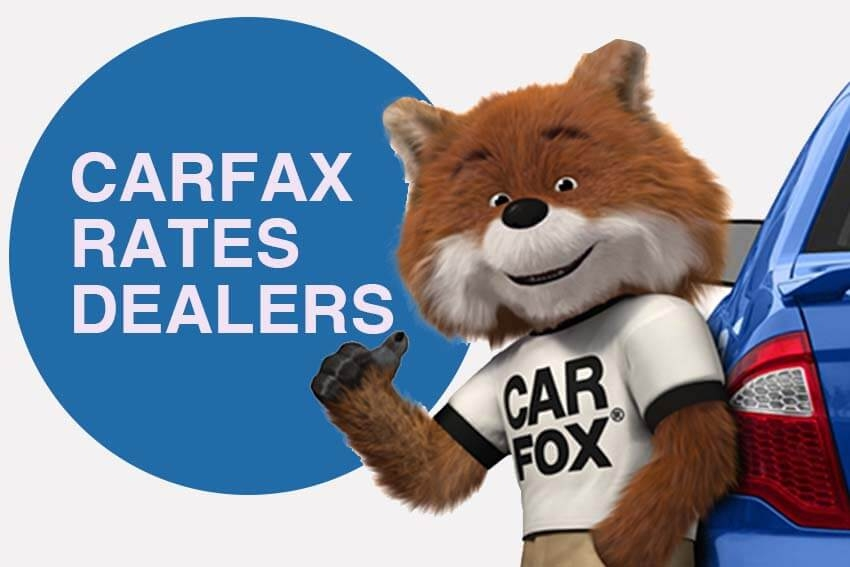 Carfax Rates Dealers