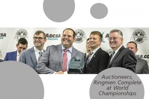 Auction Signs with Consulting Firm