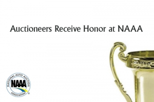 Auctioneers Receive Honor at NAAA