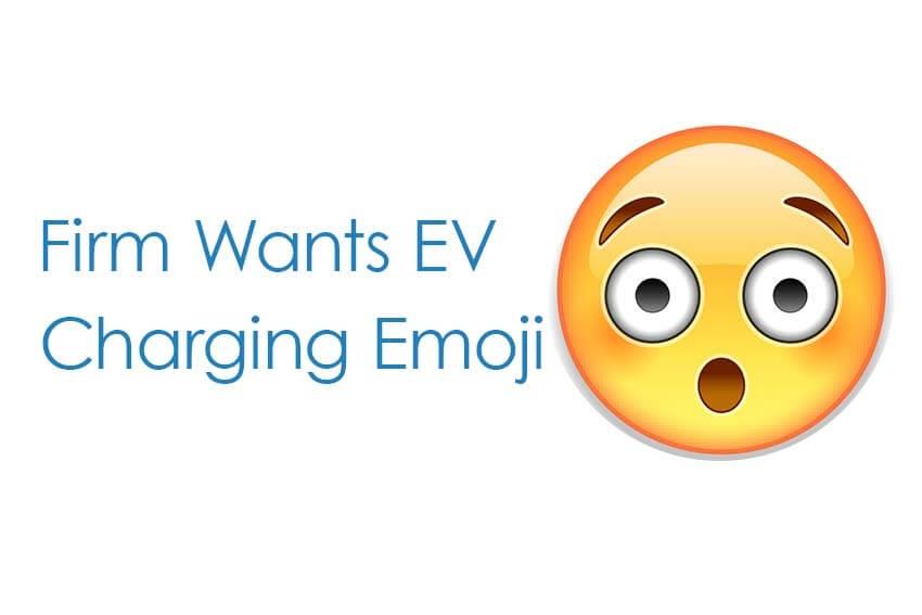 Firm Wants EV Charging Emoji