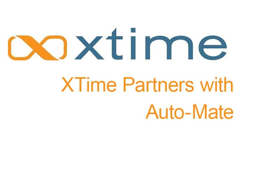 XTime Partners with Auto-Mate