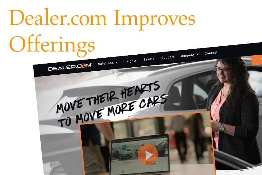 Dealer.com Improves Offerings
