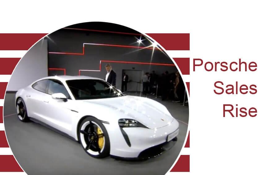 Porsche Sales Rise