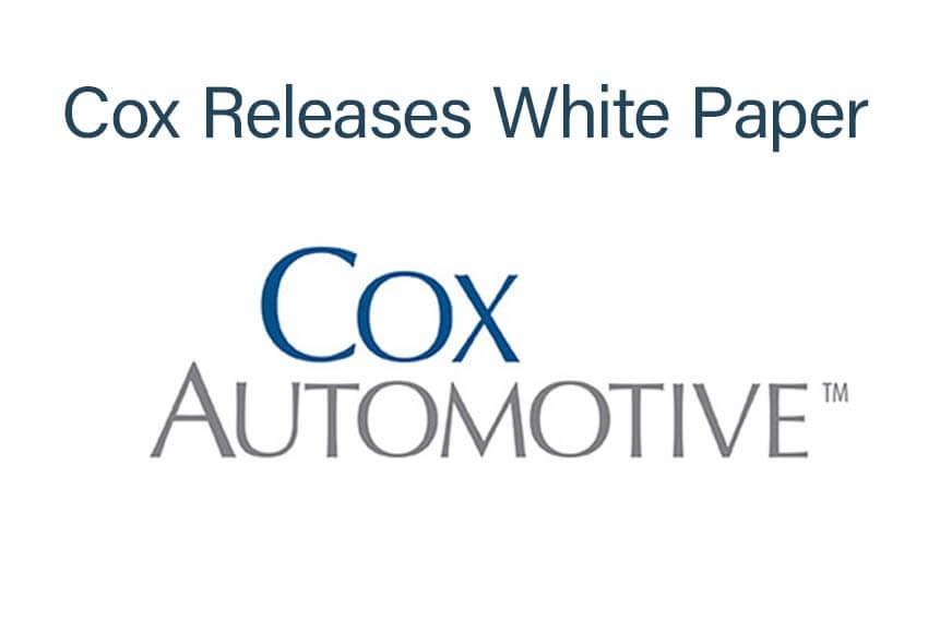 Cox Releases White Paper