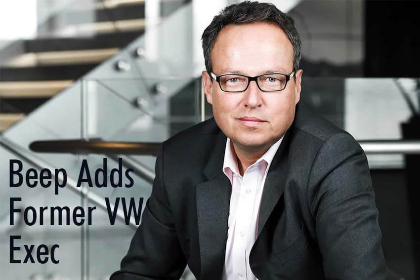 Beep Adds Former VW Exec