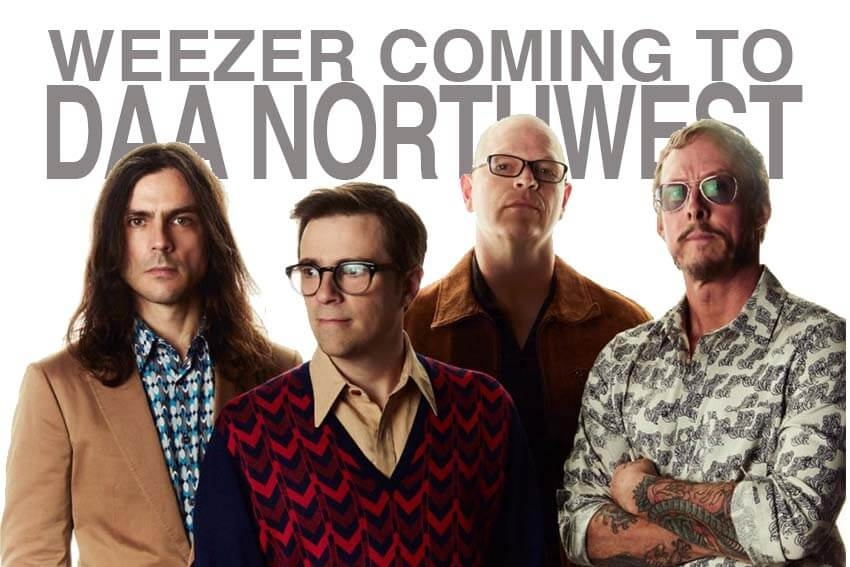 Weezer Coming to DAA Northwest