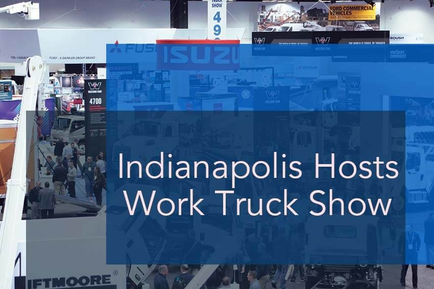 Indianapolis Hosts Work Truck Show