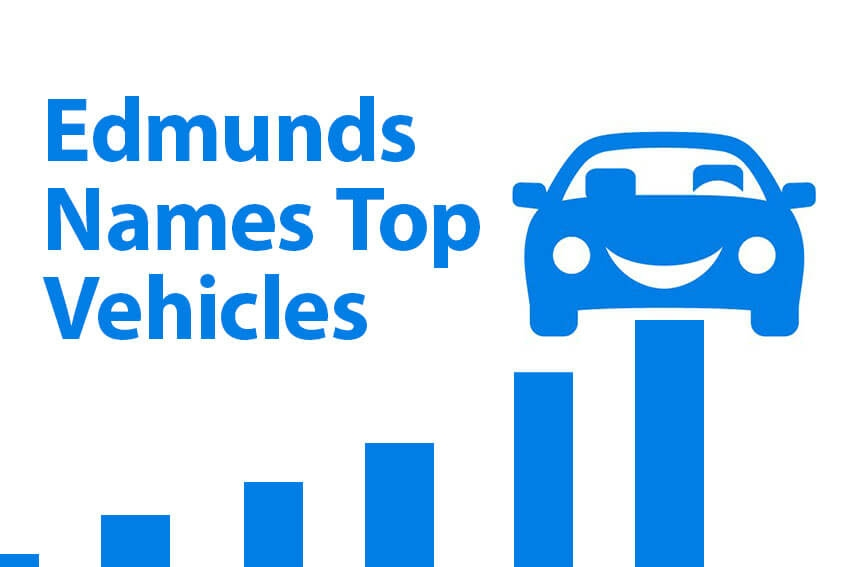 Edmunds Names Top Vehicles