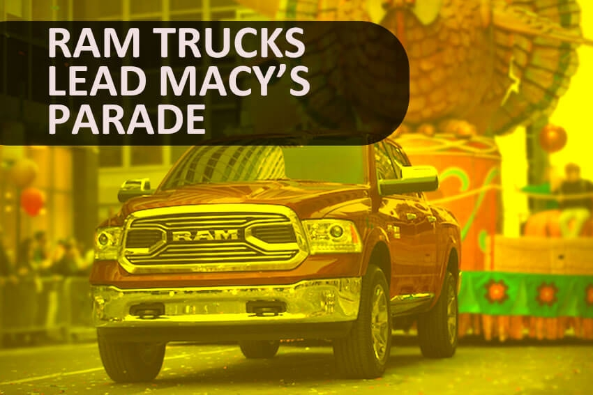 Ram Trucks Lead Macy's Parade