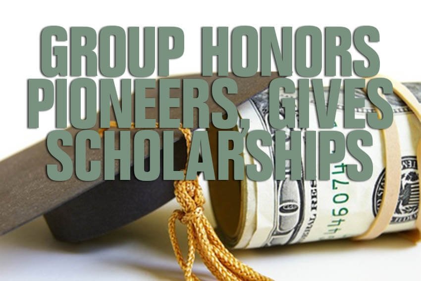 Group Honors Pioneers, Gives Scholarships