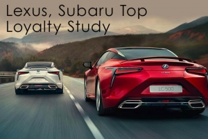 Lexus, Subaru Top Loyalty Study