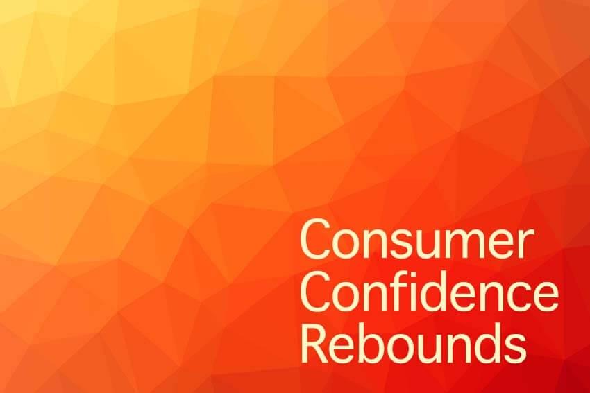Consumer Confidence Rebounds