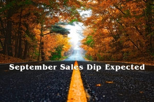 September Sales Dip Expected