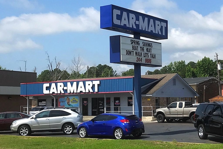 Car-Mart Reports Higher Net Earnings, Improved Performance