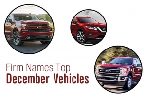 Firm Names Top December Vehicles