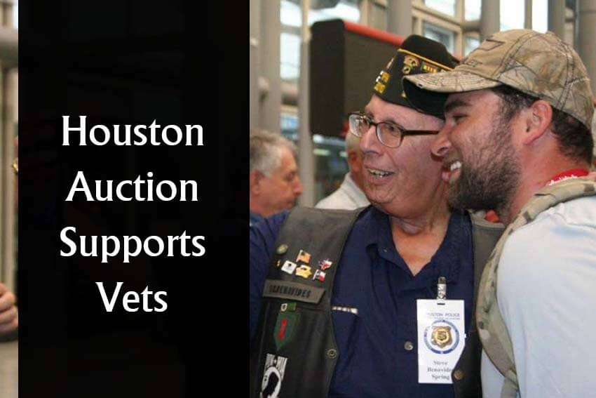 Houston Auction Supports Vets