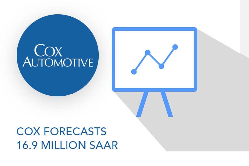 Cox Forecasts 16.9 million SAAR