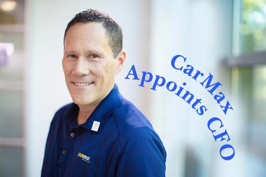 CarMax Appoints CFO