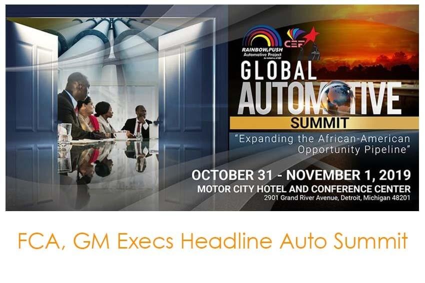 FCA, GM Execs Headline Auto Summit