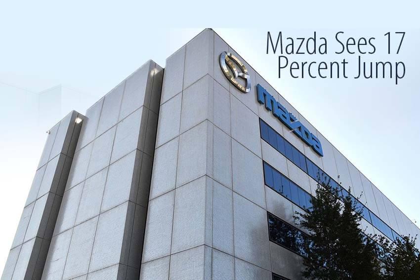 Mazda Sees 17 Percent Jump