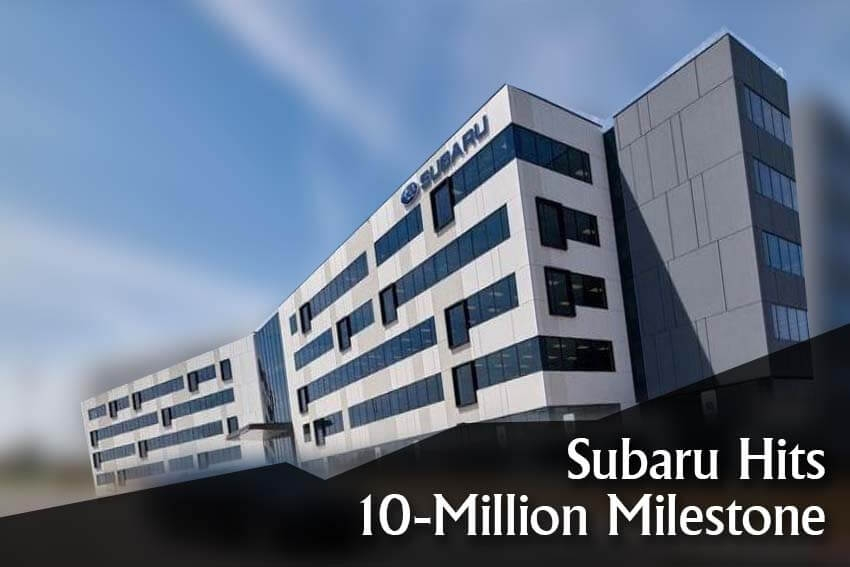 Subaru Hits 10-Million Milestone