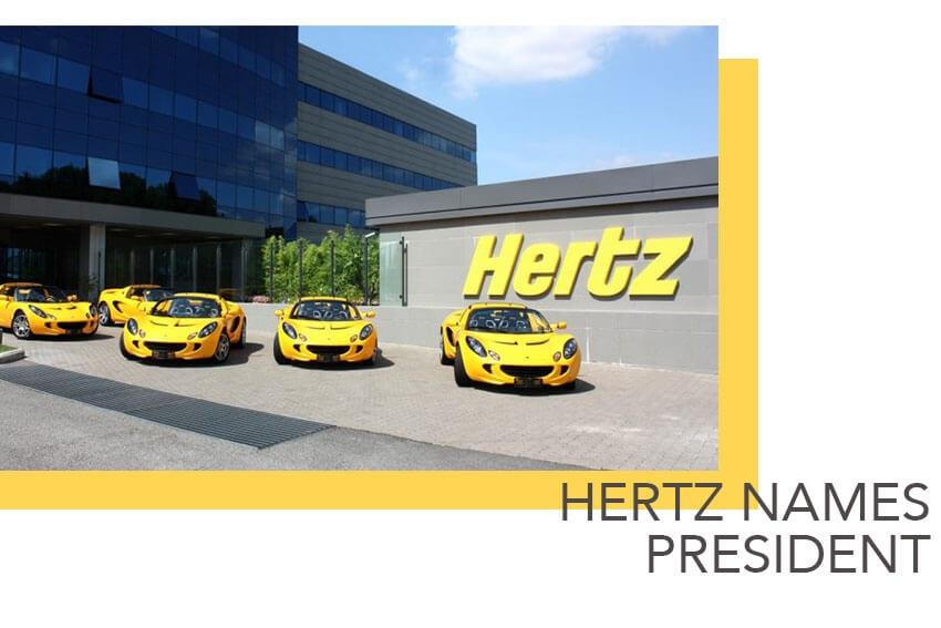 Hertz Names President
