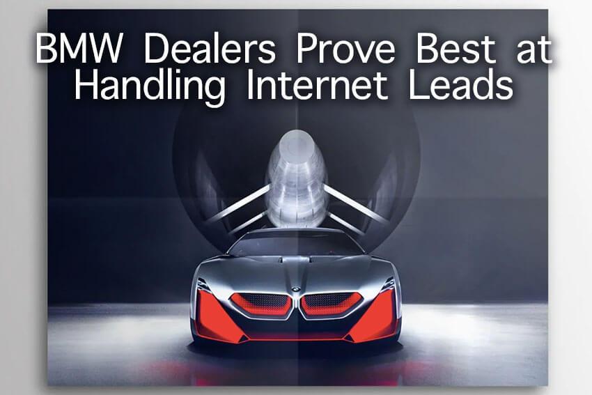 BMW Dealers Prove Best at Handling Internet Leads