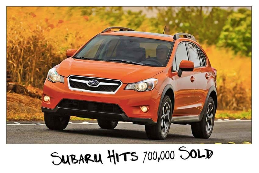 Subaru Hits 700,000 Sold