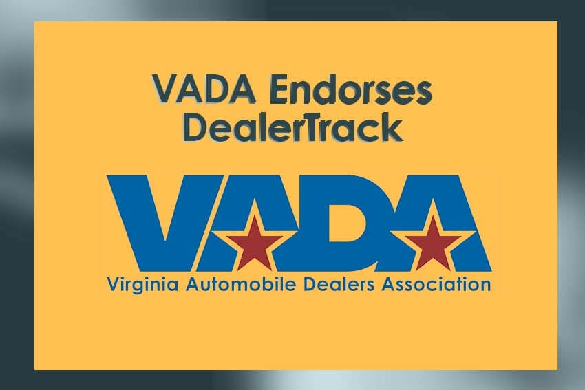 VADA Endorses DealerTrack