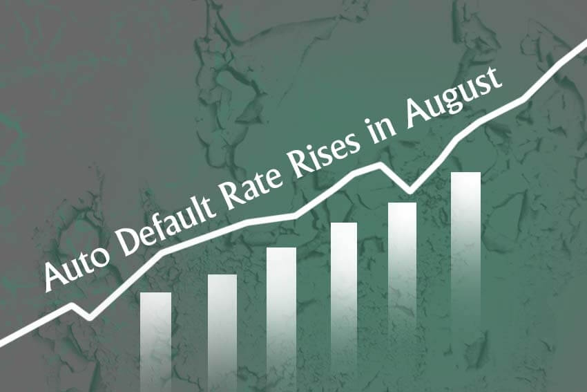 Auto Default Rate Rises in August