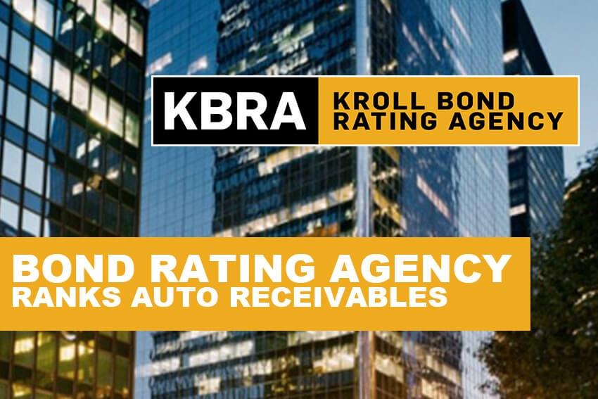 Bond Rating Agency Ranks Auto Receivables