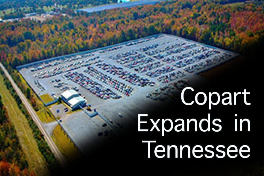 Copart Expands in Tennessee
