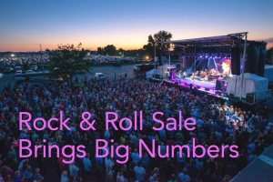 Rock & Roll Sale Brings Big Numbers