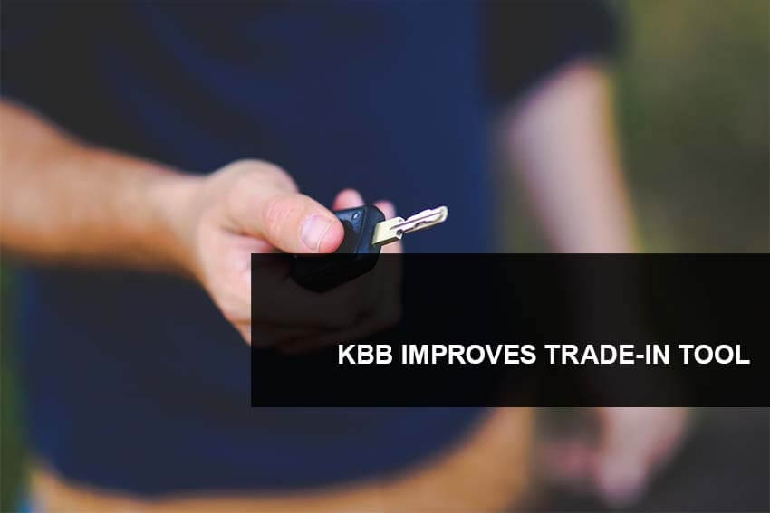KBB Improves Trade-In Tool