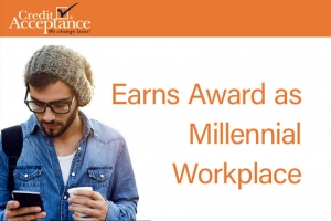 Credit Acceptance Earns Award as Millennial Workplace