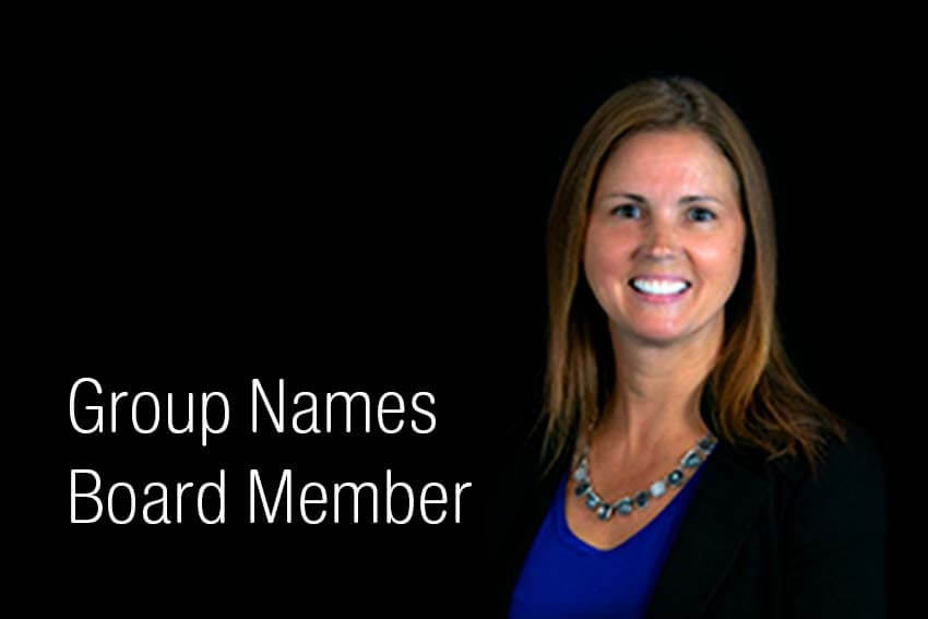 Group Names Board Member