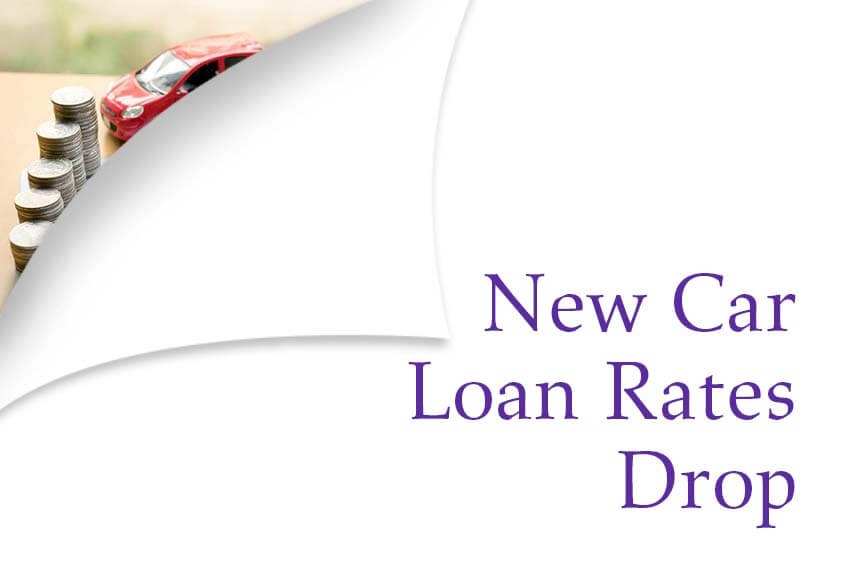 New Car Loan Rates Drop