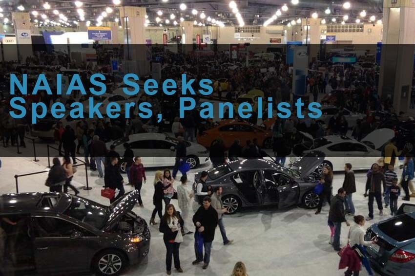 NAIAS Seeks Speakers, Panelists