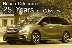Honda Celebrates 25 Years of Odyssey
