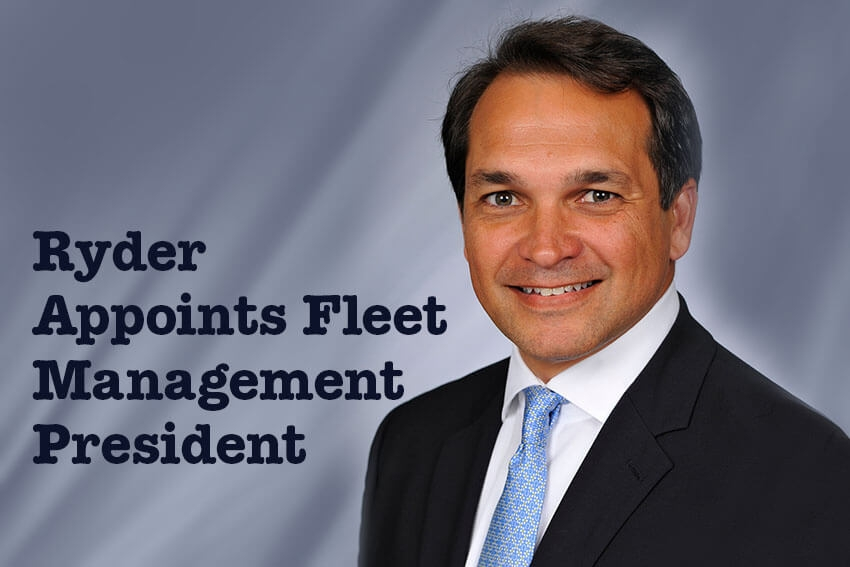 Ryder Appoints Fleet Management President